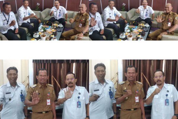 BNNK TALA Mendatangi Sekda Kabupaten Tanah Laut
