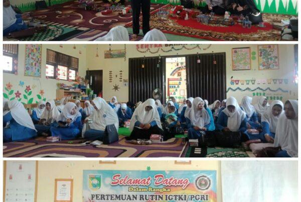 FGD di TK Pembina Desa Kunyit Kabupaten Tanah Laut