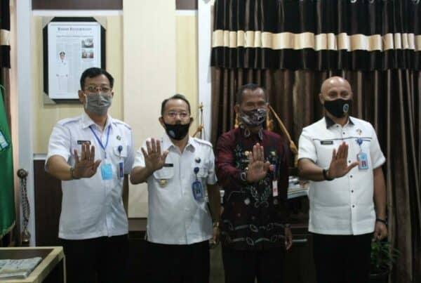 Kunjungan Kepala BNNP Kalsel (Brigjen Pol Drs. Jackson Lapalonga, M.Si) ke BNN Kabupaten Tanah Laut