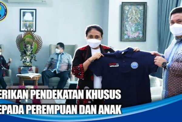 BNN RI DAN KEMENTERIAN PPPA DUKUNG PEREMPUAN DAN ANAK INDONESIA BEBAS NARKOBA