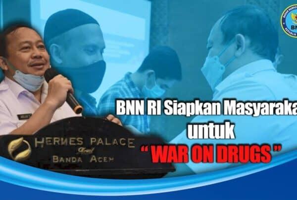 """Generasi Muda Aceh Dukung """"War On Drugs"""" BNN RI"""
