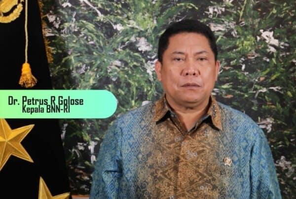 Badan Narkotika Nasional Republik Indonesia mengucapkan selamat memperingati Hari Raya Jum'at Agung
