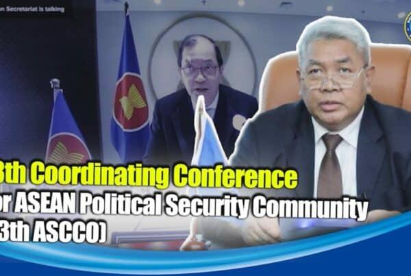 BNN RI Sampaikan Hasil ASOD Ke-41 dalam 13th Coordinating Conference for ASCCO