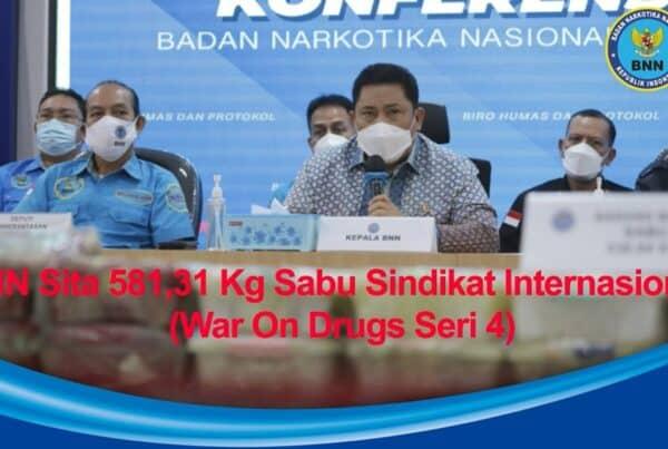BNN RI Sita Setengah Ton Sabu dan Selamatkan 2,9 Juta Jiwa Rakyat Indonesia