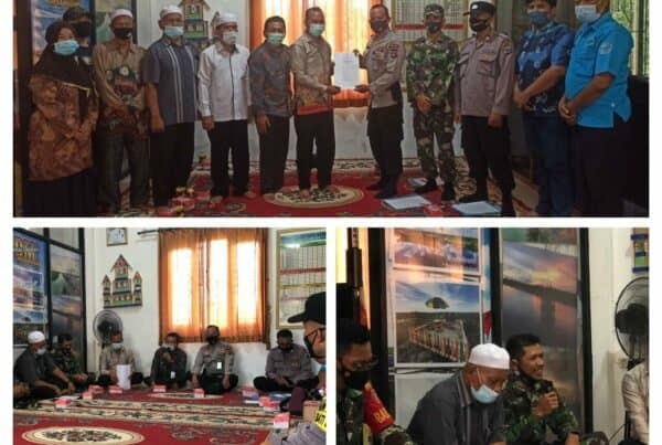 Rapat Koordinasi Program Desa Bersinar melalui Video Coferenc