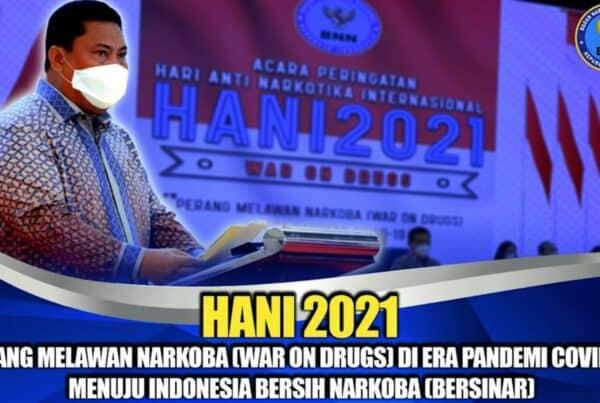 Peringatan HANI 2021, Bentuk Keprihatinan Bahaya Narkoba