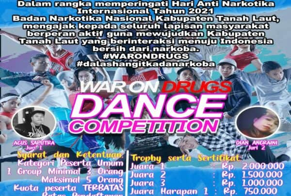 Lomba War On Drugs Dance Competition