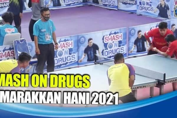 "Turnamen Tenis Meja ""Smash On Drugs"" Semarakkan HANI 2021"